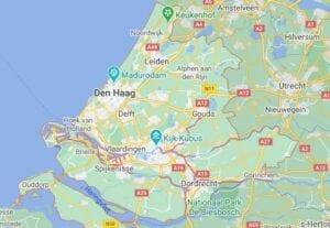 test locaties en test straten in zuidholland van coronatest-leiden.nl
